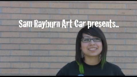 Thumbnail for entry Sam Rayburn Art Car 2010