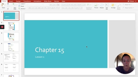 Thumbnail for entry Chapter 15 - Lesson 1