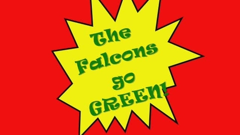 Thumbnail for entry Field Falcons Go Green