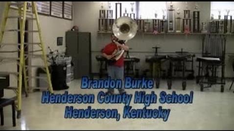 Thumbnail for entry Brandon Burke