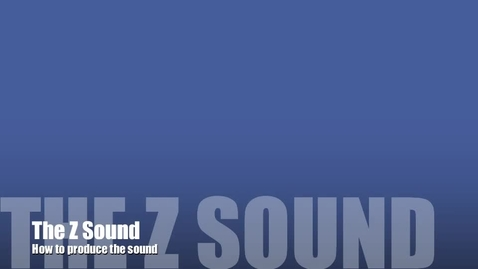 Thumbnail for entry The Z Sound