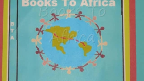 Thumbnail for entry Books to Africa Video