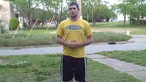 Thumbnail for entry Three point stance