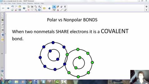 Thumbnail for entry Polar vs nonpolar bonds and molecules