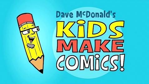 Thumbnail for entry Kids Make Comics#1: Simple Shapes make Super Characters!