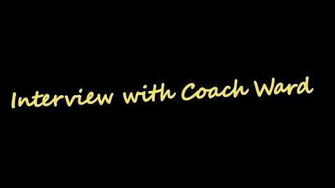 Thumbnail for entry Coach John Ward