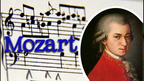 Thumbnail for entry Wolfgang Amadeus Mozart