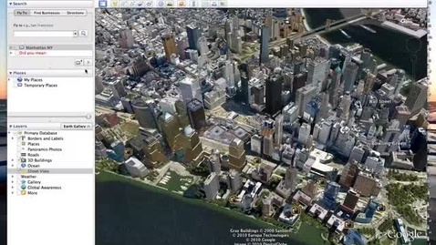 Thumbnail for entry Using Street View in Google Earth