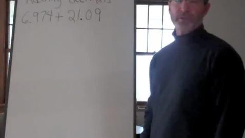 Thumbnail for entry Adding Multi-Digit Decimals