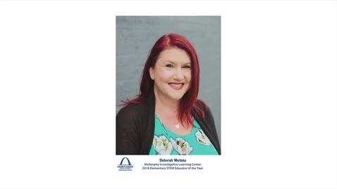 Thumbnail for entry Deborah Mertens, Educator of the Year