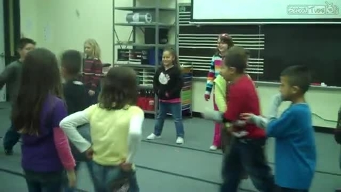 Thumbnail for entry Second Grade Square Dancing, Hendrix class 2011, She'll Be Comin' Around the Mountain,