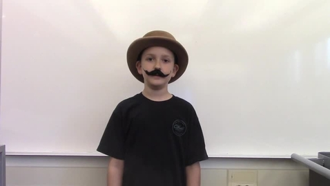 Thumbnail for entry 2017 - 4th Grade Wax Museum - Nate is Orville Wright