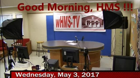 Thumbnail for entry 5-3-17 WHMS Morning News