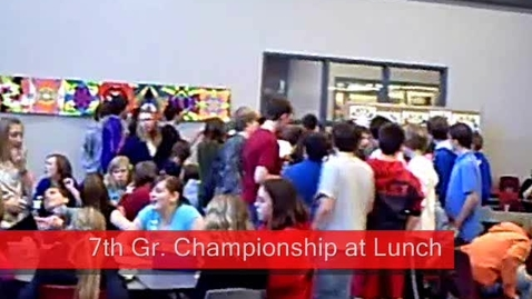 Thumbnail for entry Race Championship at Lunch