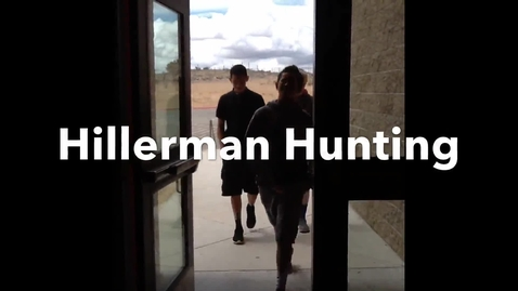 Thumbnail for entry hillerman hunting
