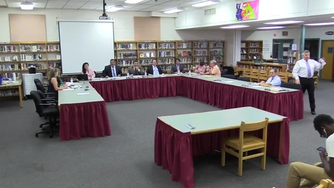 Thumbnail for entry Hackettstown Board of Education Meeting - September, 21st, 2016