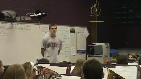 Thumbnail for entry Scott Menefee Drum Major Audition (USAAMB/MENC 2009)