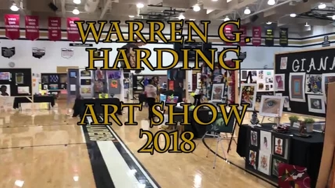 Thumbnail for entry WGH Art Show 2018 - filmed by WSCN