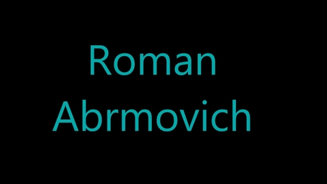 Thumbnail for entry Roman Abramovic - Engineer