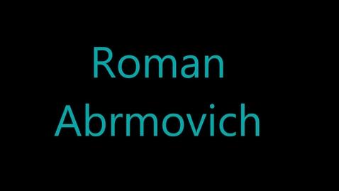 Thumbnail for entry Roman Abramovic - Engineer