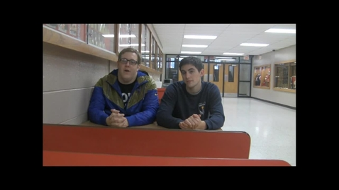 Thumbnail for entry Olympic Gold Medalist Dain Blanton visits with MQTv at Marquette Senior High School