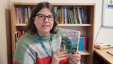 Thumbnail for entry Mrs Correia reads The Magic Faraway tree