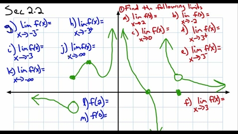 Thumbnail for entry Calculus Sec 2.2