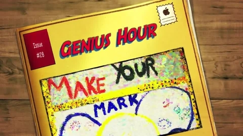 Thumbnail for entry Genius Hour Updates