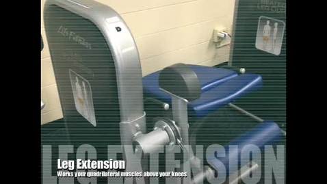 Thumbnail for entry Leg Extension Demo