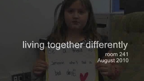 Thumbnail for entry Living Together Differently