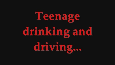 Thumbnail for entry Teen DUI PSA