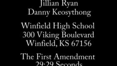 Thumbnail for entry 1st Amendment PSA