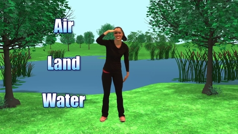 Thumbnail for entry Water Land Air