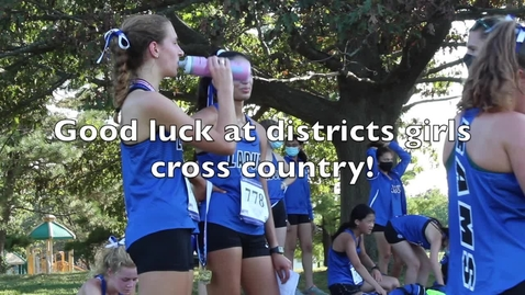 Thumbnail for entry Ladue Girls XC Hype Video