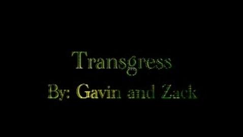Thumbnail for entry Transgress-Brainyflix.com Vocab Contest
