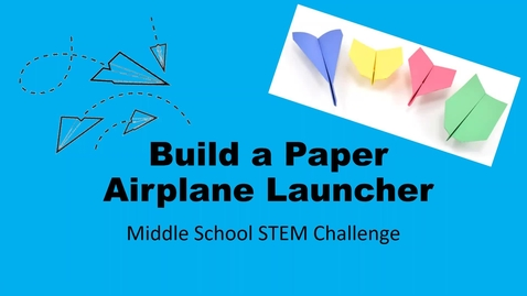 Thumbnail for entry Zoom-MS STEM Challenge