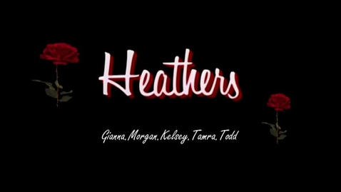 Thumbnail for entry Heathers - WSCN Parody 2016/2017