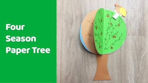 Thumbnail for entry Arbol en cuatro estaciones/Four season tree