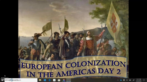 Thumbnail for entry EUROPEAN COLONIZATION DAY 2
