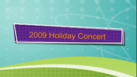 Thumbnail for entry Lakeside Holiday Concert 2009