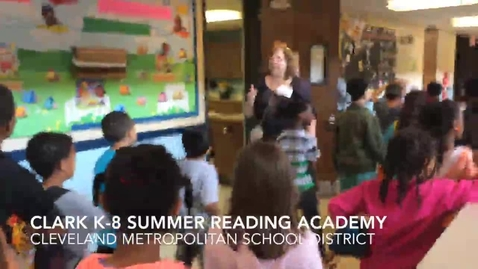 Thumbnail for entry Cleveland schools Summer Reading Academy