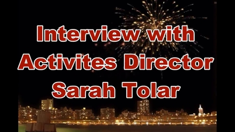 Thumbnail for entry Interview with Activities