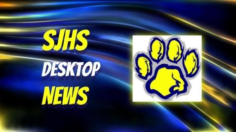 Thumbnail for entry SJHS News 2.16.21 w/ Football
