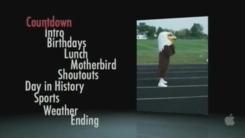 Thumbnail for entry Eagle News 2-6-12