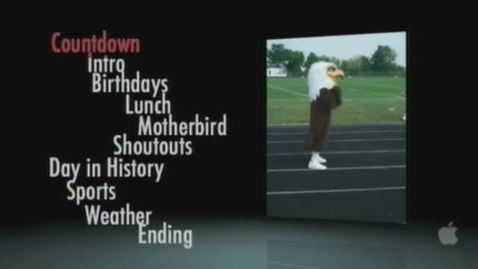 Thumbnail for entry Eagle News 2-6-12