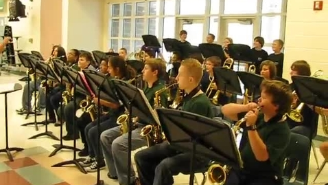 Thumbnail for entry HMS Jazz Band Concert 10/26/10