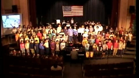 Thumbnail for entry Songs for Troops 2009 - 4-6 Chorus - Wild Mountain Thyme