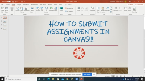 Thumbnail for entry Submitting Assignments: Office 365 Assignment