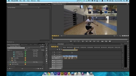 Thumbnail for entry How To Video - Premiere Editing - Step 5