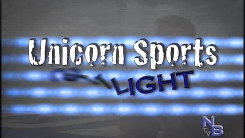 Thumbnail for entry Unicorn Sports Spotlight - Mason Davis #9